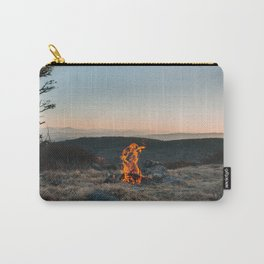 Peaceful Fire Carry-All Pouch