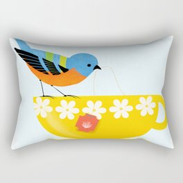 Put The Kettle On Rectangular Pillow