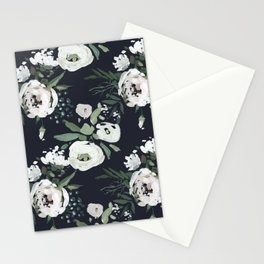 Rustic Floral Print Stationery Cards
