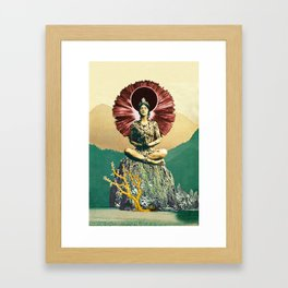 Third Jhana Framed Art Print