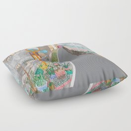 Nisja: tokyo 2 Floor Pillow