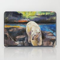 northern lights iPad Cases featuring Northern Lights by Michael Creese
