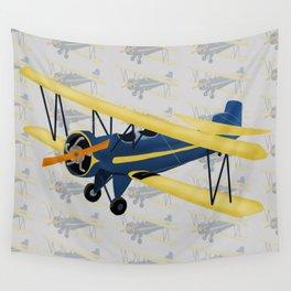Bi-Plane - Fleet Model Wall Tapestry