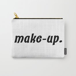 make-up. Carry-All Pouch