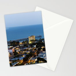 Down town Ventura, CA. Stationery Cards