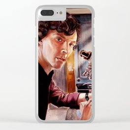 The Scientist Clear iPhone Case