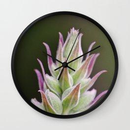 Prickley Pastels Wall Clock