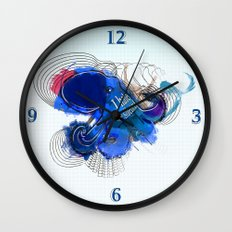 I hate the silence Wall Clock
