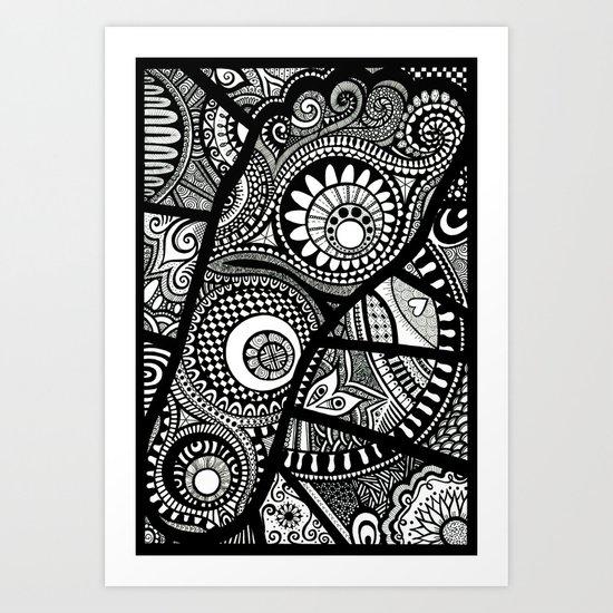 Foot bound Art Print