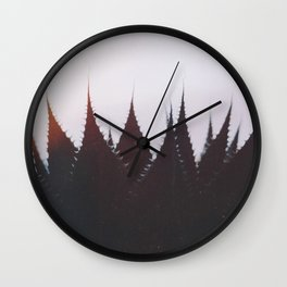 Evening Mood Wall Clock