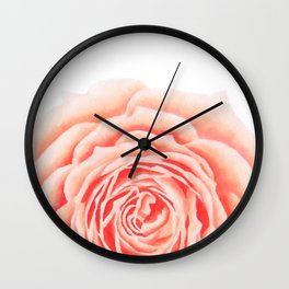 Flower, Big Rose Wall Clock