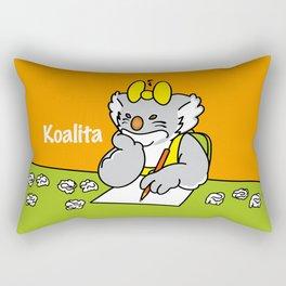 Koalita at school Rectangular Pillow