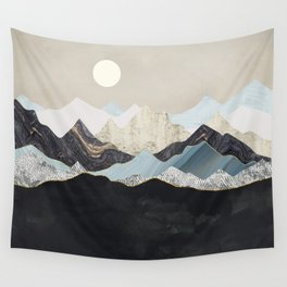 Silent Dusk Wall Tapestry