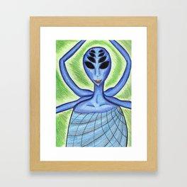 Spider! Framed Art Print