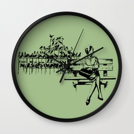 Risolty Rosolty Wall Clock