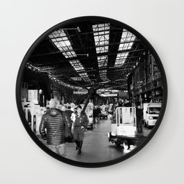 The Entry to Tsukiji Fish Market, Tokyo, Japan Wall Clock