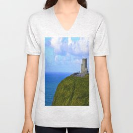 O'Brien's Tower Unisex V-Neck