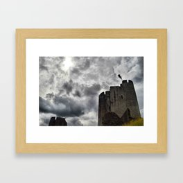 Caerphilly Castle Wales 3 Framed Art Print