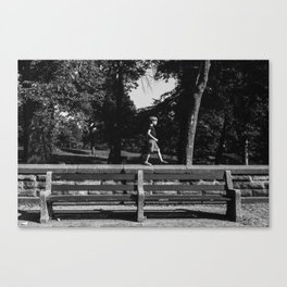 Park Slope Stroll Canvas Print