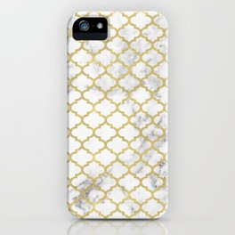 Moroccan marble iPhone Case