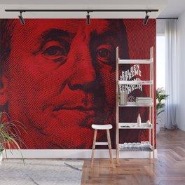 Benjamin Dark (red) Wall Mural