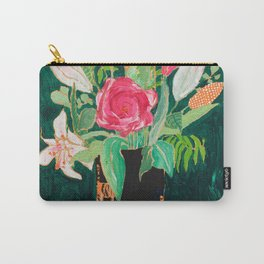 Tiger Vase Carry-All Pouch