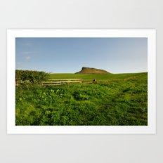 Roseberry Topping Art Print