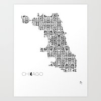 City of Pattern: Chicago Art Print