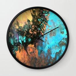 Boulder opal Wall Clock