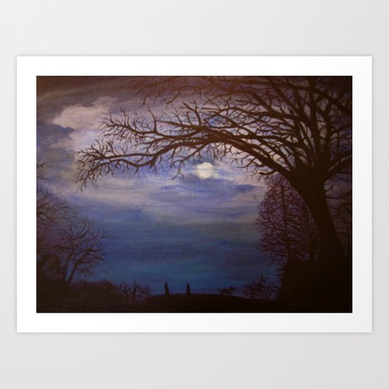 Nacht Art Print
