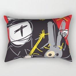 Magic Trick Rectangular Pillow