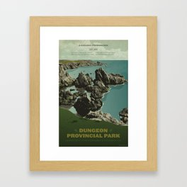 Dungeon Provincial Park Framed Art Print