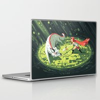 wallet Laptop & iPad Skins featuring Duel by Freeminds