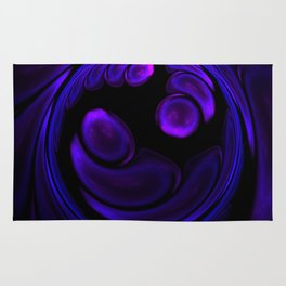 Rounded abstract fractal Rug