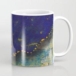 Blue and Gold Sassy Girl  Coffee Mug