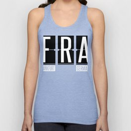 FRA - Frankfurt Airport - Germany Airport Code Gift or Souvenir  Unisex Tank Top