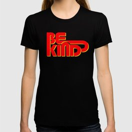 BE KIND - bright typography T-shirt