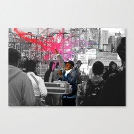 Jamaican Singer Canvas Print