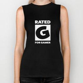 Rated G for gamer Biker Tank
