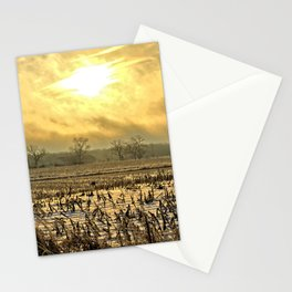 Overcast Sunrise 2 Stationery Cards