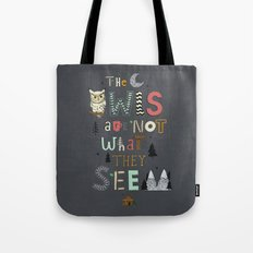 Not What They Seem Tote Bag