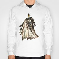 steam punk Hoodies featuring Batbot- Steam Punk  by Chien-Yu Peng