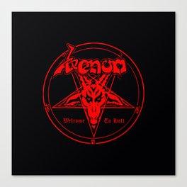 venom metal music Canvas Print