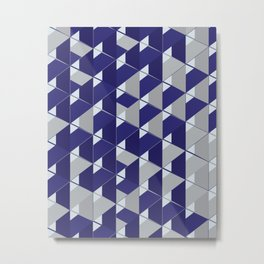 3D Lovely GEO III Metal Print