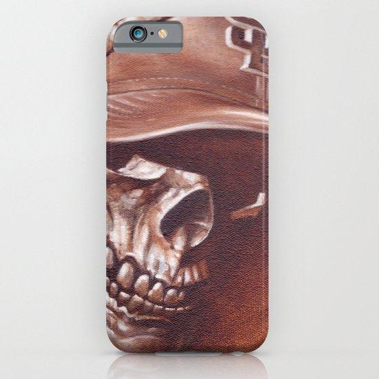 skull and cap iPhone & iPod Case