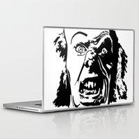 clown Laptop & iPad Skins featuring CLOWN by Guglielmo