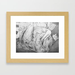 Sheets No. 5 Framed Art Print