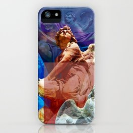 Religious Hymns of Angels iPhone Case