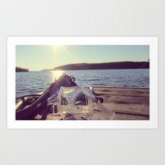 dock days Art Print