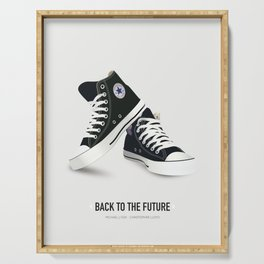 Back to the Future - Alternative Movie Poster Serving Tray